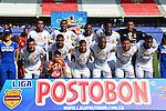 BARRANQUILLA – COLOMBIA _ 25-01-2014 / En compromiso correspondiente a la primera jornada del Torneo Apertura Colombiano 2014, Uniautónoma FC en su debut en la primera división venció 3 – 2 al Deportes Tolima en el estadio metropolitano Roberto Meléndez de Barranquilla. / Nómina inicial del Deportes Tolima.