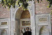 Europe/Turquie/Istanbul :  Porte du Palais de Tokapi
