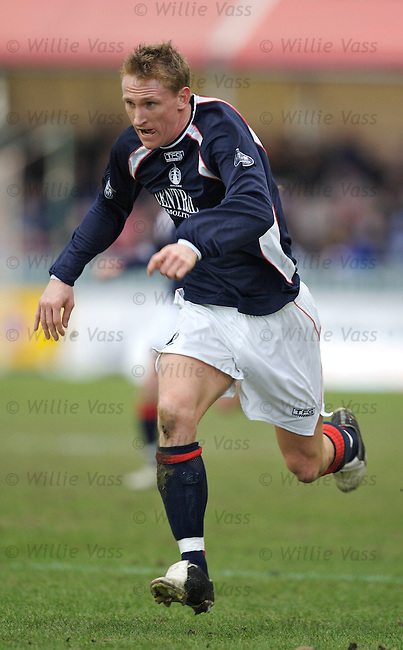 Daniel McBreen, Falkirk.stock season 2005-2006.pic willie vass