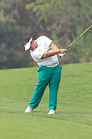 Kiradech Aphibarnrat (THA) in action during the final round of the Volvo China Open played at Topwin Golf and Country Club, Huairou, Beijing, China 26-29 April 2018.<br /> 29/04/2018.<br /> Picture: Golffile | Phil Inglis<br /> <br /> <br /> All photo usage must carry mandatory copyright credit (&copy; Golffile | Phil Inglis)