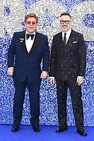 """Elton John and David Furnish<br /> arriving for the """"Rocketman"""" premiere in Leicester Square, London<br /> <br /> ©Ash Knotek  D3502  20/05/2019"""