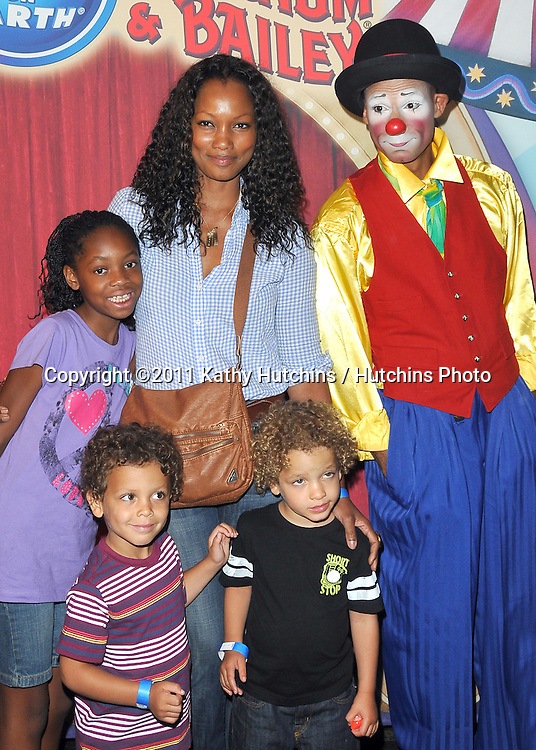 Garcelle Beauvais, family.Ringling Bros. and Barnum & Bailey presents Fully Charged.Staples Center.Pacoima, CA.May 14, 2011.©2011 Hutchins Photo....