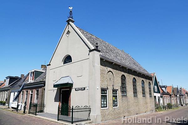 Nederland Stavoren- 2017.  De Doopsgezinde Kerk.  Foto Berlinda van Dam / Hollandse Hoogte