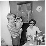 left to Right, Fred Breedon III, Scott Winton (baby), Betty Winton (Alec's first wife)