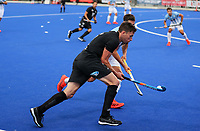 Jacob Smith during the Pro League Hockey match between the Blacksticks men and the Argentina, Nga Punawai, Christchurch, New Zealand, Friday 28 February 2020. Photo: Simon Watts/www.bwmedia.co.nz