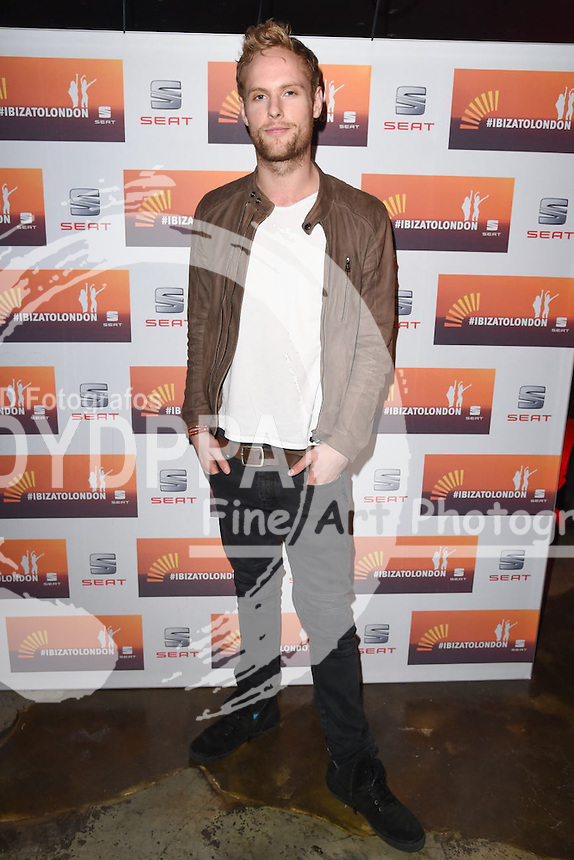 Jack Fox<br /> attends the SEAT Ibiza launch party at Carousel, London<br /> <br /> &copy;Ash Knotek  D3019  29/09/2015