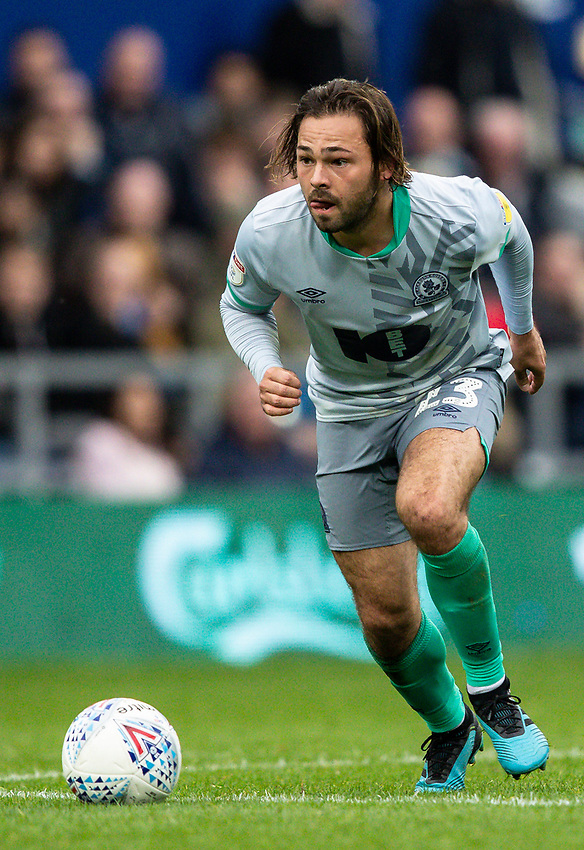 Blackburn Rovers' Bradley Dack breaks<br /> <br /> Photographer Andrew Kearns/CameraSport<br /> <br /> The EFL Sky Bet Championship - Queens Park Rangers v Blackburn Rovers - Saturday 5th October 2019 - Loftus Road - London<br /> <br /> World Copyright © 2019 CameraSport. All rights reserved. 43 Linden Ave. Countesthorpe. Leicester. England. LE8 5PG - Tel: +44 (0) 116 277 4147 - admin@camerasport.com - www.camerasport.com