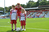 Match day Mascots during Stevenage vs Tranmere Rovers, Sky Bet EFL League 2 Football at the Lamex Stadium on 4th August 2018