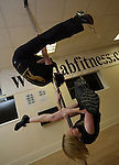 Vanessa McCowen and Aisling O'Reilly, the Labfitness poledancers who were told by Shane Lynch on Ireland's Got Talent that they were the best act of the day but to chose them would be going against his principals as a Catholic in a Catholic Country...Photo NEWSFILE/Jenny Matthews.(Photo credit should read Jenny Matthews/NEWSFILE)....This Picture has been sent you under the condtions enclosed by:.Newsfile Ltd..The Studio,.Millmount Abbey,.Drogheda,.Co Meath..Ireland..Tel: +353(0)41-9871240.Fax: +353(0)41-9871260.GSM: +353(0)86-2500958.email: pictures@newsfile.ie.www.newsfile.ie.FTP: 193.120.102.198.