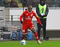 Anthony Ujah (1. FSV Mainz 05) - 07.02.2018: Eintracht Frankfurt vs. 1. FSV Mainz 05, DFB-Pokal Viertelfinale, Commerzbank Arena