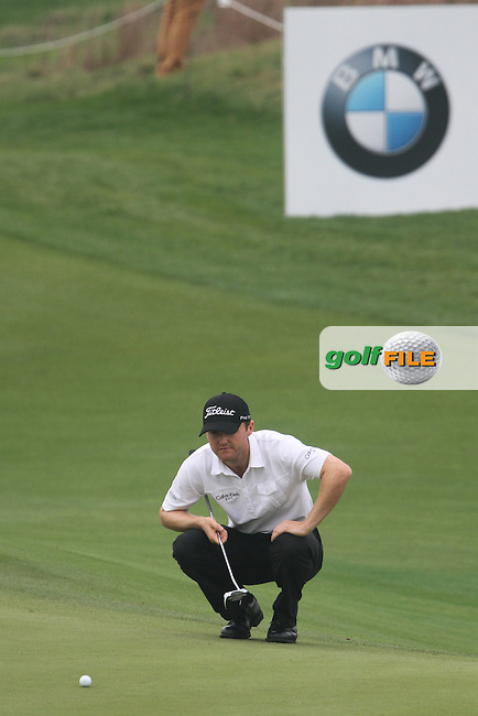 Michael Hoey (NIR) on Day 3 of the BMW Masters 2012 at Lake Malaren Golf Club, Shanghai, China, Tuesday 26/10/12...(Photo www.golffile.ie)