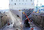Chantier Naval de Marseille (CNdM) is a ship repair yard with modern and well equipped facilities, a highly skilled workforce, a wide network of specialists and strong teamwork ethic .<br /> Ferry / Passenger Ship Scandola. Length 150 m X 23 m.
