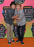 Dylan & Cole Sprouse at Nickelodeon's 23rd Annual Kids' Choice Awards held at Pauley Pavilion in Westwood, California on March 27,2010                                                                                      Copyright 2010 © DVS / RockinExposures