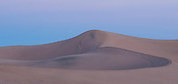 Mesquite Flat sand dunes at dawn, Death Valley National Park, California