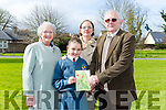 Scoil Eoin Balloonagh held a mass for parents and grandparents on Thursday. Pictured Emma Ryan with Moira Shepard, Pamela Ryan and Adrian Shepard