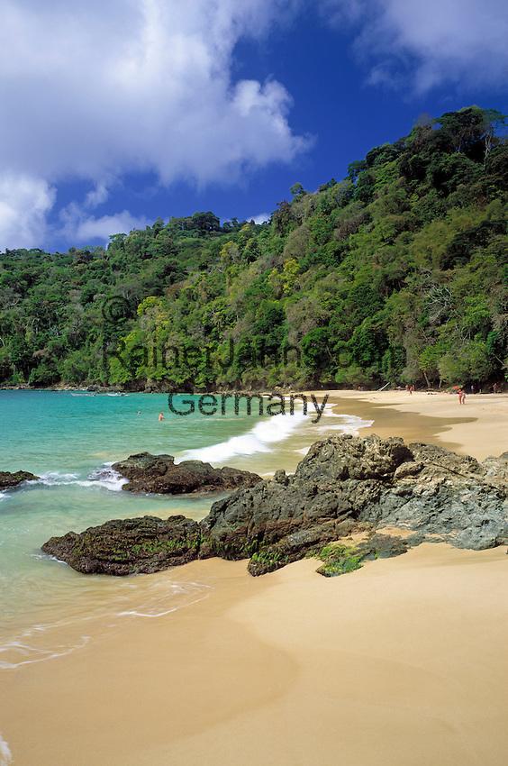 Trinidad & Tobago, Commonwealth, Tobago, Charlotteville: Pirates Bay Beach