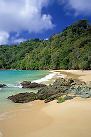 Trinidad & Tobago, Commonwealth, Tobago, Charlotteville: Pirates Bay Beach