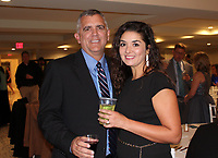 NWA Democrat-Gazette/CARIN SCHOPPMEYER Steve and Lindsay Patrick enjoy Aiming for Zero.