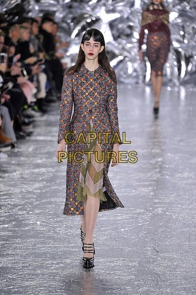MARY KATRANTZOU<br /> London Fashion Week<br /> Ready to Wear<br /> Fall Winter 16/17<br /> in London, England February 21, 2016.<br /> CAP/GOL<br /> &copy;GOL/Capital Pictures