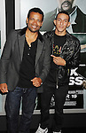 HOLLYWOOD, CA - OCTOBER 15: Mario Van Peebles and Khleo Thomas arrive at the Los Angeles premiere of 'Alex Cross' at the ArcLight Cinemas Cinerama Dome on October 15, 2012 in Hollywood, California.