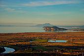 Stump Bay & Motuoapa Peninsula, Lake Taupo. Tauhara Mountain is in the distance, Central North Island, New Zealand