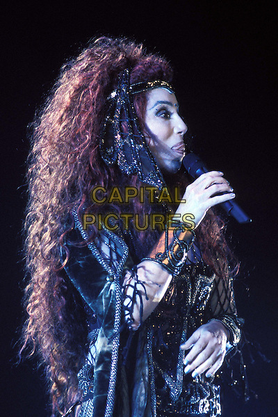 CHER..Ref: 8983/1510i..stage, concert, singing, costume, music, performing, half length, half-length ..www.capitalpictures.com..sales@capitalpictures.com..©Capital Pictures..