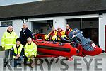Banna Rescue Unit unveiling new boat. Pictured Front P J O'Riordan, John Casey, Steve Baker, Aidan Duggan, Thomas Ward,Neil Bodenham, Brian Crean