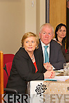 Minister Frances Fitzgerald and Minister Jimmy Dennihan at the official opening of the LIstowel Family Resource Centre last Monday afternoon.