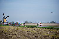 early break attempt in the race<br /> <br /> 50th Amstel Gold Race 2015