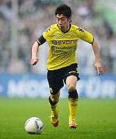 FUSSBALL   1. BUNDESLIGA   SAISON 2011/2012   26. SPIELTAG Borussia Dortmund - SV Werder Bremen               17.03.2012 Shinji Kagawa (Borussia Dortmund) Einzelaktion am Ball