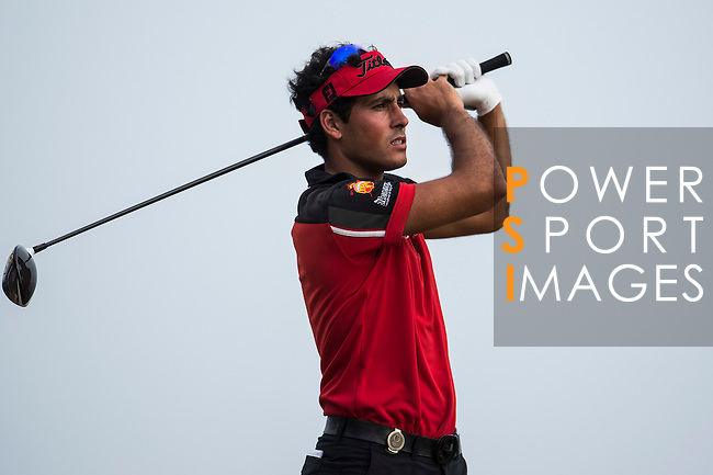 Carlos Pigem of Spain in action during the Venetian Macao Open 2016 at the Macau Golf and Country Club on 16 October 2016 in Macau, China. Photo by Marcio Machado / Power Sport Images