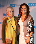 Marcela Lorca and mother during The Third Annual SDCF Awards at The The Laurie Beechman Theater on November 12, 2019 in New York City.