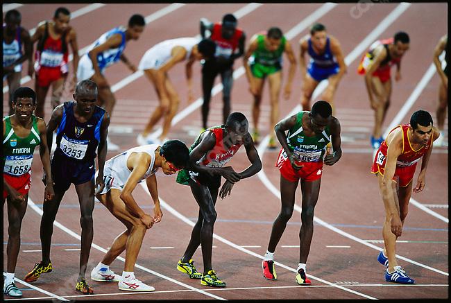 5000m, men, Summer Olympics. Seoul, South Korea, September 1988