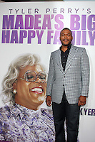 "LOS ANGELES - APR 19:  Tyler Perry arriving at the ""Madea's Big Happy Family"" Premiere at ArcLight Cinemas Cinerama Dome on April 19, 2011 in Los Angeles, CA.."