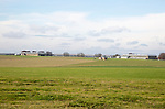 Airfield Camp Netheravon military facility, Salisbury Plain, Wiltshire, England, UK