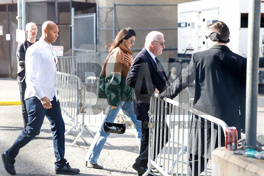NOVA YORK, EUA, 08.11.2018 - VICTORIA-SECRET - A modelo Kendall Jenner chega para o desfile da Victoria Secret que acontece hoje quinta-feira, 08 em Nova York nos Estados Unidos. (Foto: Vanessa Carvalho/Brazil Photo Press)
