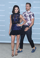 NEW YORK, NY - MAY 14: Jenna Dewan and Derek Hough at the 2018 NBCUniversal Upfront at Rockefeller Center in New York City on May 14, 2018.  <br /> CAP/MPI/RW<br /> &copy;RW/MPI/Capital Pictures