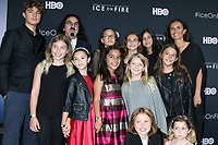 """LOS ANGELES - JUN 5:  George DiCpario, Daughter, Girlscouts, Leila Conners at the """"Ice on Fire"""" HBO Premiere at the LACMA Bing Theater on June 5, 2019 in Los Angeles, CA"""