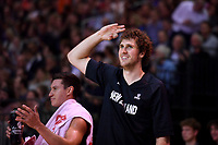 New Zealand Tall Blacks&rsquo; Rob Loe in action during the FIBA World Cup Basketball Qualifier - NZ Tall Blacks v Jordan at Horncastle Arena, Christchurch, New Zealand on Thursday 29 November  2018. <br /> Photo by Masanori Udagawa. <br /> www.photowellington.photoshelter.com