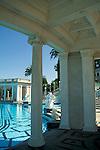 Roman style Neptune Pool, Hearst Castle San Simeon State Historic Park, California