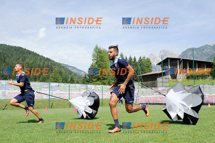 Rivardo Kishna<br /> 22-07-2016 Auronzo di Cadore ( Belluno )<br /> Ritiro estivo S.S. Lazio ad Auronzo di Cadore in preparazione per la stagione 2016-2017<br /> SS Lazio pre season training camp <br /> @ Marco Rosi / Fotonotizia / Insidefoto