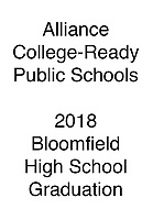 Alliance 2018 Bloomfield HS Graduation