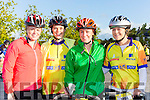 Marie Murphy, Debra Daly, Celine O'Connor, and Karen O'Sullivan enjoying the Pieta House cycle in Rathmore on Sunday