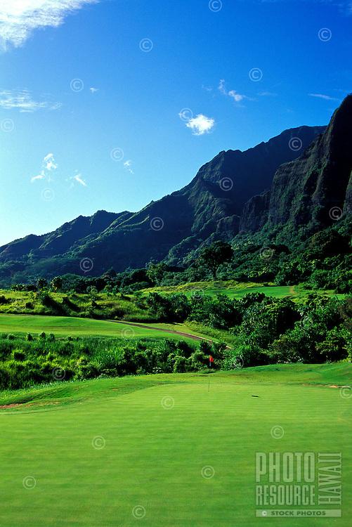 Koolau golf course number 11 designed by Dick Nugent & Jack Tuthill, Oahu
