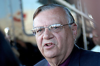 Sheriff Joe Arpaio Maricopa County..Photo by AJ Alexander