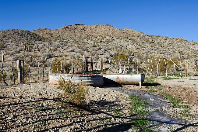 Mojave Desert near Barstow, prime Chukar habitat, Joker Spring