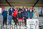 TRUE NORTH winner of the DERBY TRIAL STAKE owner con Fitzgerald at  the Listowel Coursing on Sunday