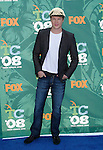 Actor Luke Ford arrives at the 2008 Teen Choice Awards at the Gibson Amphitheater on August 3, 2008 in Universal City, California.