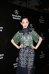 Actress Jiang Mengjie Wearing Vivienne Tam  After the MBFW Spring 2015 NY Vivienne Tam at Lincoln Center