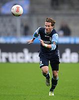 Fussball 2. Bundesliga:  Saison   2012/2013,    16. Spieltag  TSV 1860 Muenchen - SC Paderborn  27.11.2012 Benjamin Lauth (1860 Muenchen)